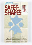 Compac Safe-T-Shapes Blue Fish 3 Count