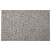 Jovi Home 100-Percent Cotton Chantilly Chenille Bath Mat, 50cm by 80cm , Grey