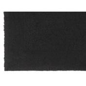 Jovi Home 100-Percent Cotton Gracious Bath Mat, 50cm by 70cm , Black