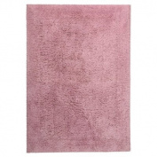 Jovi Home 100-Percent Cotton Gracious Bath Mat, 50cm by 70cm , Sweet Pink