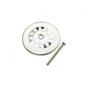 Strainer Dome Cover, 7.6cm Polished Chrome
