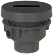 Sioux Finishline 832-25PF 2 x 3 PVC Drain Rouhgin