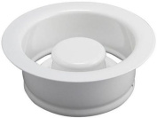 Keeney K5417WH Garbage Disposal Flange and Stopper, White