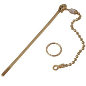 LDR 503 2250 Brass Lift Wire and Chain Universal