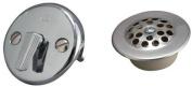 Keeney K826-65PC Triplever Style Bath Drain Trim Kit, Chrome
