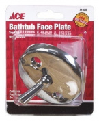 Ace Bath Waste Overflow Face Plate