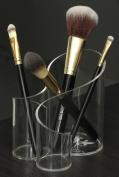 CICI & SISI Large Wave Acrylic Makeup Brush Holder Organiser
