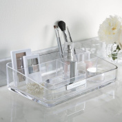 Acrylic Cosmetics Organiser with Removable Compartment - U.S. Acrylic Signature Collection
