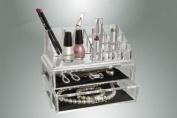 Vanity Organiser - Separate Cosmetic & Jewellery