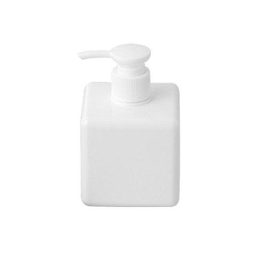 9ce95f70d469 MOMA Muji PET Rectangular Pump Bottle - 250ml - White