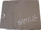 Nylon Salon Cape Sample - One size fits most - Chocolate Brown
