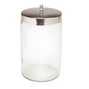 Applicator Jar with Lid 7x 4 1/4 Each