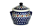 Polish Pottery Nature Small Canister