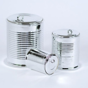 Silver Plated Canister Set