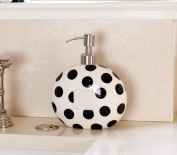 BLACK DOT MINI SOAP PUMP Happy Everything by Coton Colours
