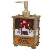 Camp Jingles Rectangular Lotion Pump