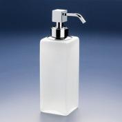 Free Standing Frozen Glass Soap Dispenser Finish