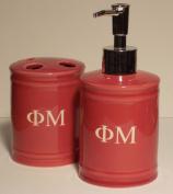 Phi Mu - Bathroom Set
