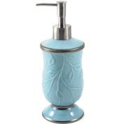 Saturday Knight LTD Seafoam Blue Ceramic Soap Dispenser
