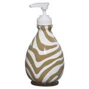 Tiddliwinks Madagascar Lotion Dispenser - Brown/ White/ Green