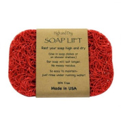 Holiday Red Soap Lift soap dish by Soap Lift