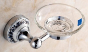 MKL Soap Dish in Brass Construction, Chrome #MKL01C