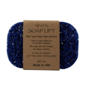 Royal Blue Soap Lift soap dish by Soap Lift
