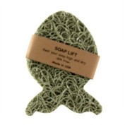 Sage Green Fish Soap Lift soap dish by Soap Lift