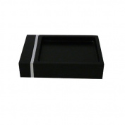 Style Selections Tegan Black Soap Dish