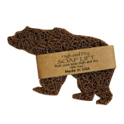 Tan Bear Shape Soap Lift soap dish by Soap Lift