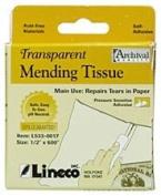 Transparent Mending Tissue 1.3cm x 1520cm