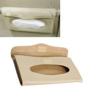 Vktech Car Sun Visor Napkin Box Tissue Cover Holder