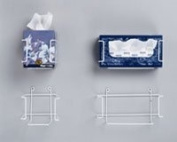 1341860 PT# 1859R Holder Tissue Box w/ Mounting Hardware Rectangle Ea Made by Palmero Sales Co Inc