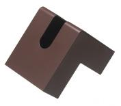 H concept tissue case brown folio