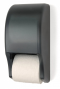 Palmer Fixture RD0028-01 Two-Roll Standard Tissue Dispenser, Dark Translucent