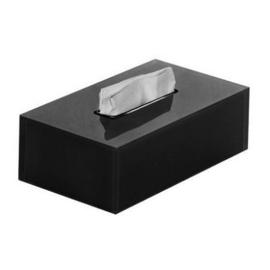 Rainbow Tissue Box Cover Colour Black By Gedy By Nameeks