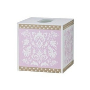 Tiddliwinks Baroque Damask Bath Tissue Box Cover