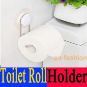 *011 Garbath Bathroom Suction Cup Toilet Roll Holder, 260011