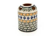 Polish Pottery Herb Garden Toothbrush Holder