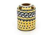 Polish Pottery Saffron Toothbrush Holder