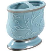 Saturday Knight LTD Seafoam Blue Ceramic Toothbrush Holder