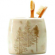 Winter White Tooth Brush Holder by Blonder Home