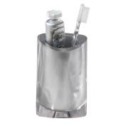 Nameeks 4698-73 Twist Toothbrush Holder, Silver