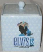 Elvis Bathroom Cottonball Holder