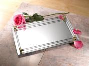 Fine 2.7mx4.3m Mirror Tray with Cristal Border