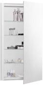 Robern CB-RC2036D4FP1 R3-Series Plain Mirror Medicine Cabinet