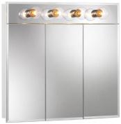 Broan-NuTone 755435 Ashland Lighted Frameless Medicine Cabinet with Four Bulbs