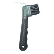 Intrepid International Rubber Hoof Pick with Brush
