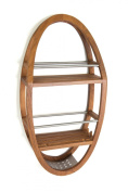 Teak & Stainless Shower Organiser - From the Spa Collection