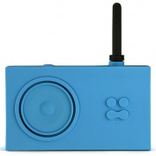 Lexon Tykho Rubber Radio Light Blue